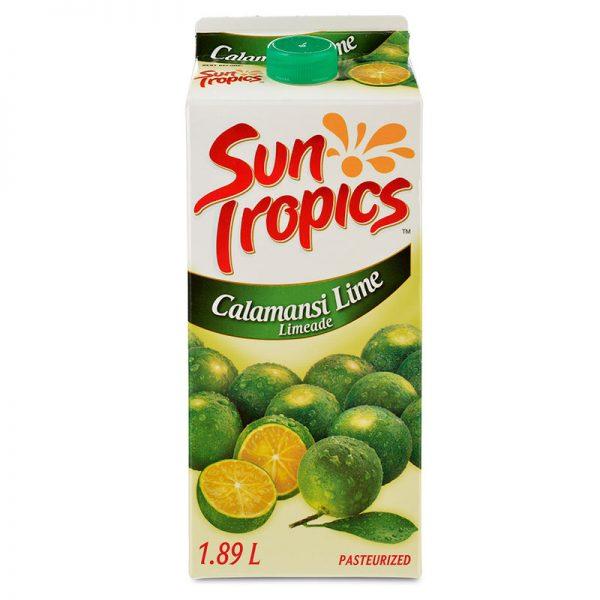 a carton of Sun Tropics Calamansi Limeade