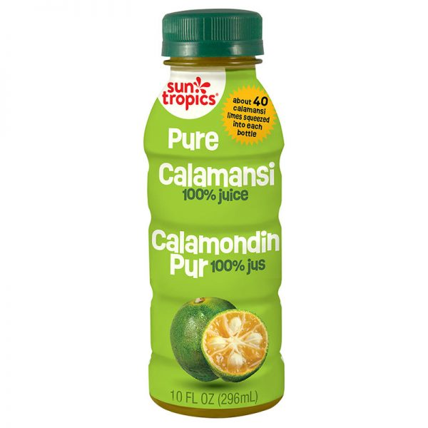 a bottle of Pure Calamansi from Sun Tropics