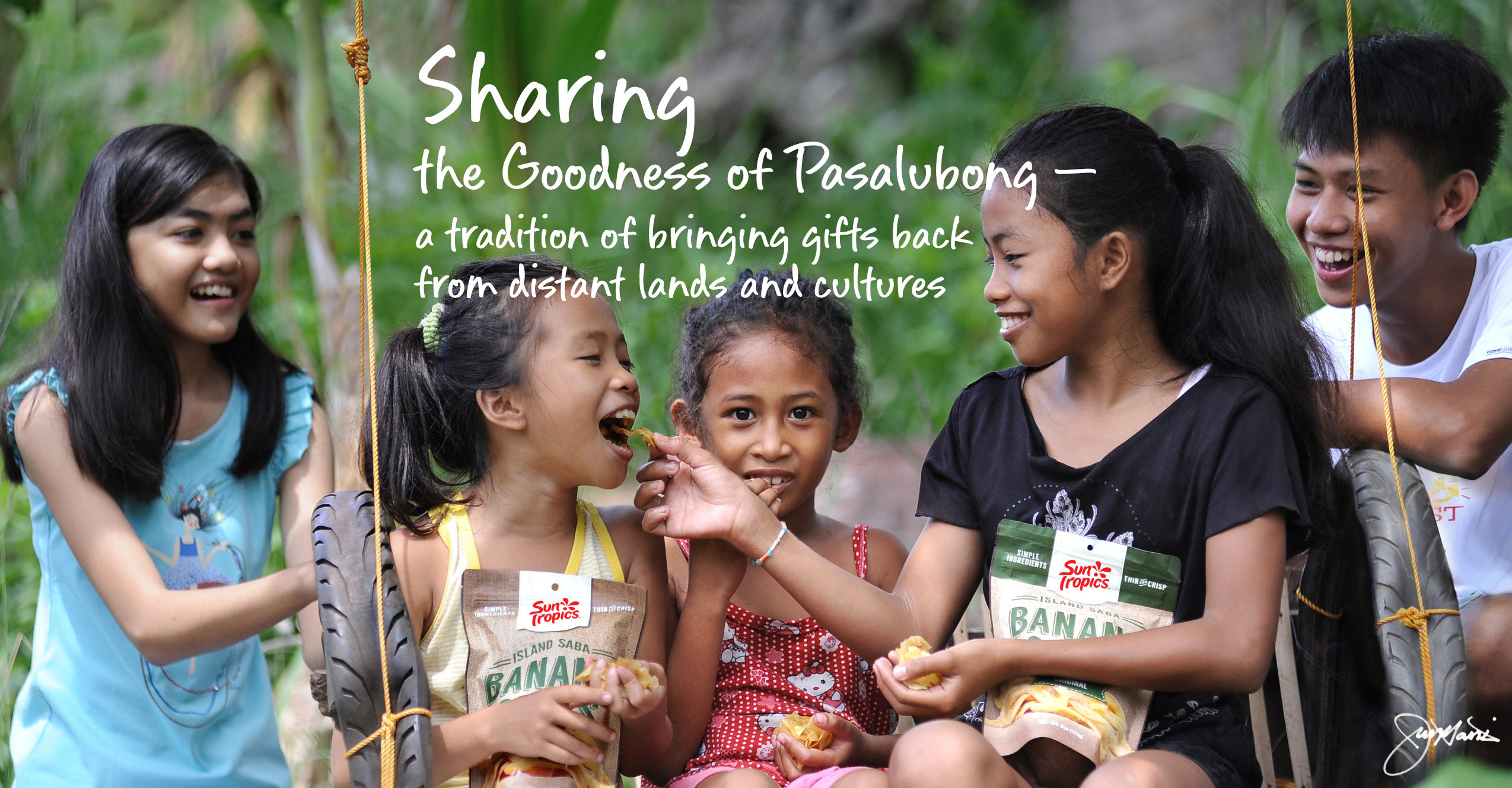 Sharing the goodness of Pasalubong