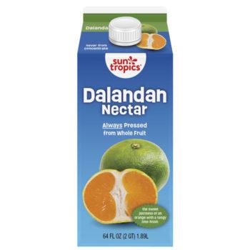 a carton of SunTropics dalandan nectar