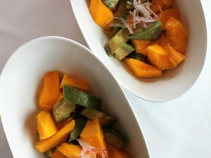 PAPAYA & AVOCADO SALAD