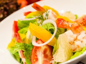 Prawn Salad with Mango Vinaigrette
