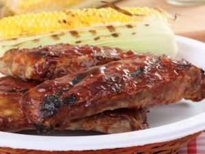Grilled Spareribs in Mango Marinade