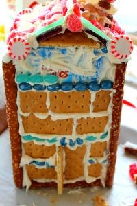 GBHouse Build Brick2 200x300 Juice Carton Gingerbread Houses
