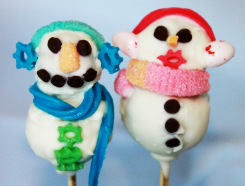 Calamansi Cake Pop Couple