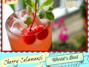 Cherry Calamansi Sparkling Limeade
