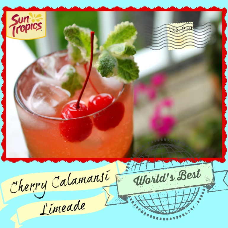 Cherry Calamansi Limeade