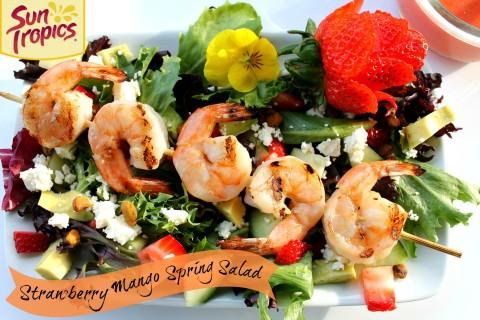 Strawberry Mango Spring Salad