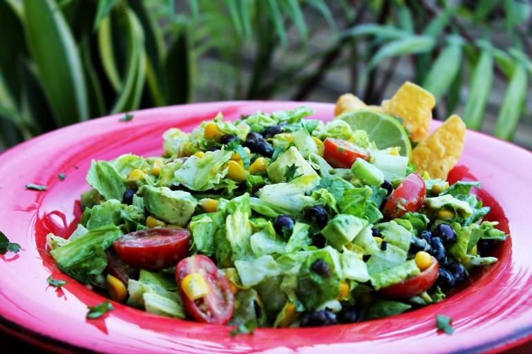 Calamansi Spiked Salad