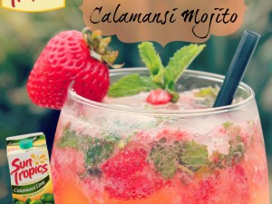 Strawberry Calamansi Mojito (Family Friendly!)