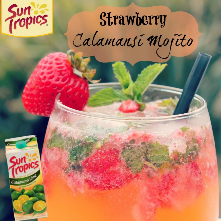 Strawberry Calamansi Mojito
