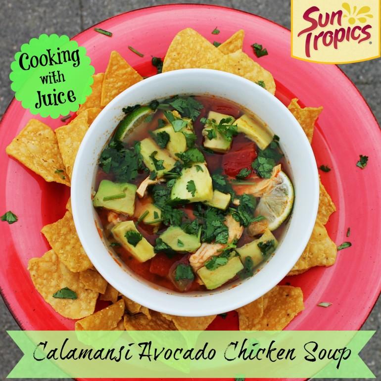 Calamansi Avocado Chicken Summer Soup