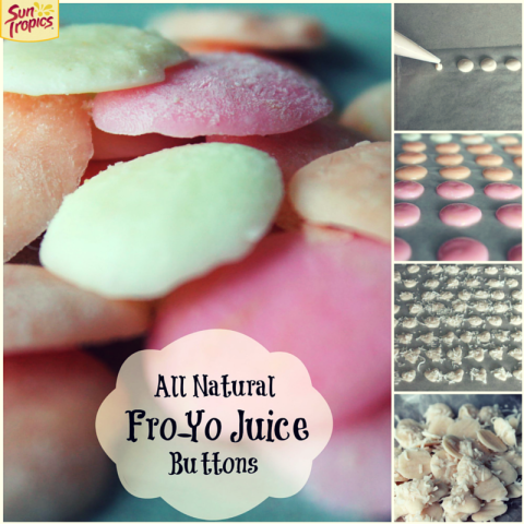 Fro-Yo Juice Buttons