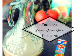 Tropical POG Dressing