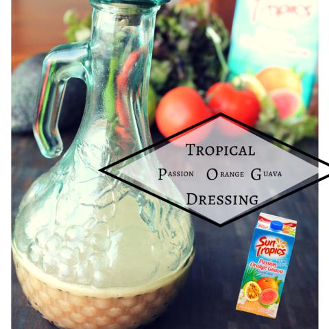 Tropical POG Dressing