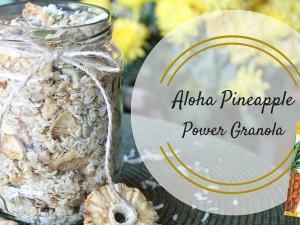 Aloha Pineapple Granola