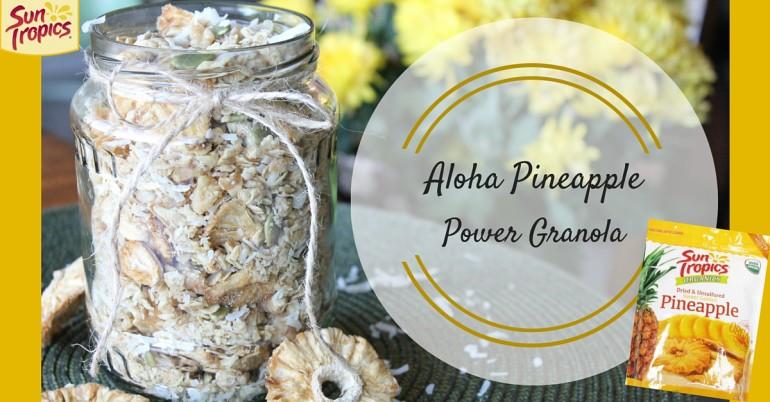 Pineapple Aloha Granola