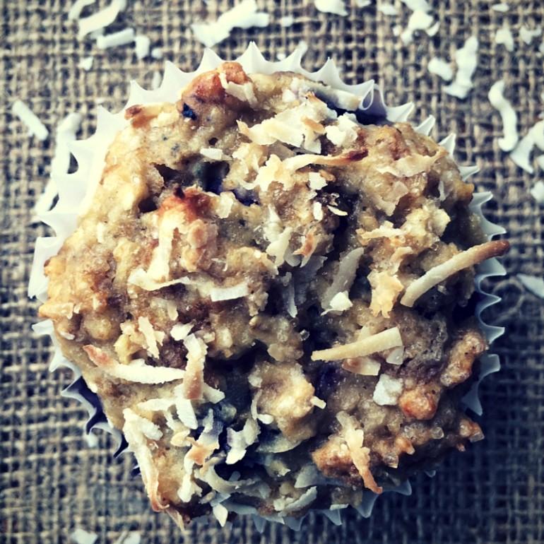 Calamansi Blueberry Bran Muffin