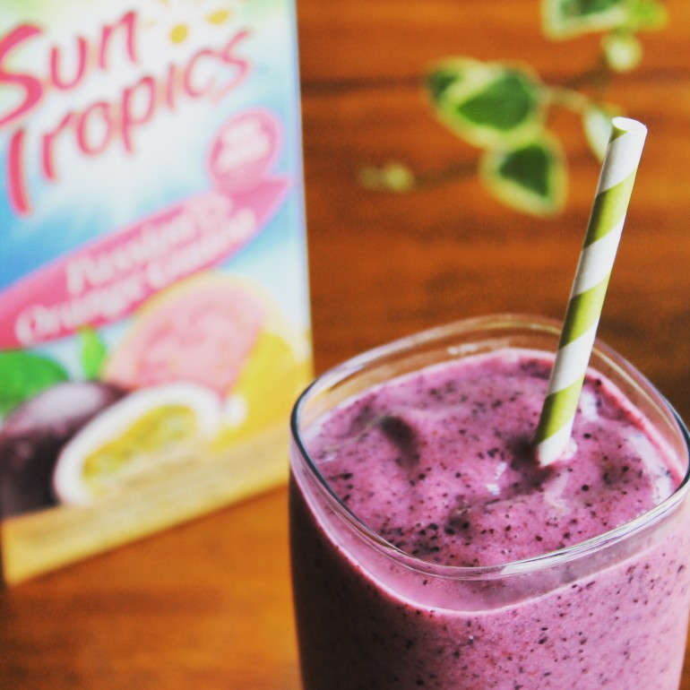 Berry Tropical Smoothie