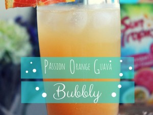 Passion Orange Guava Bubbly