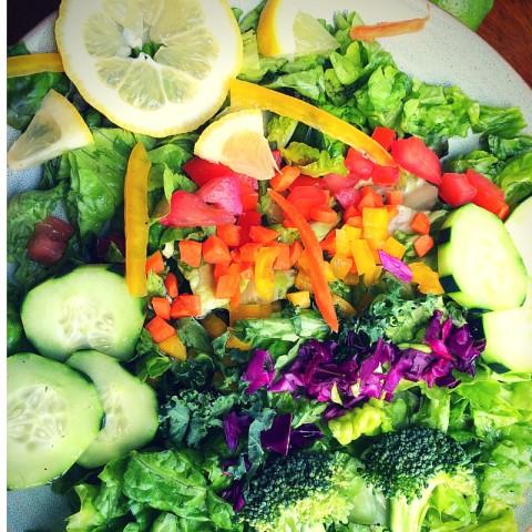 Rainbow Chop Salad