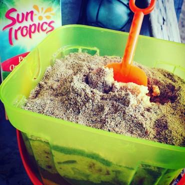 Edible Sand Cake