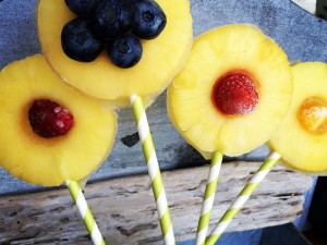 Liquid Sunshine Flower Pops