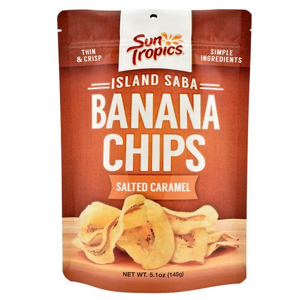 salted caramel banana chips
