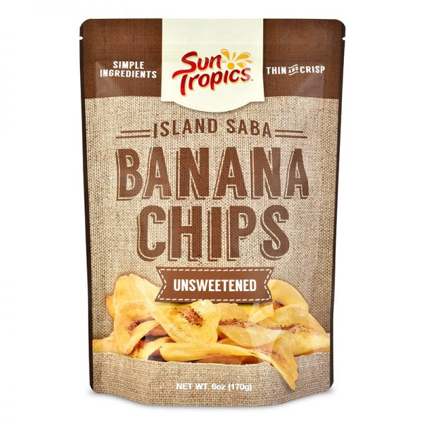 unsweetened banana chips