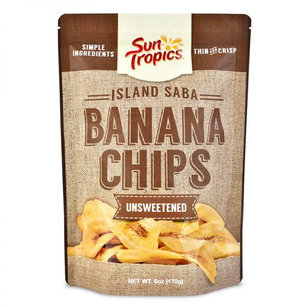 unsweetened banana chips