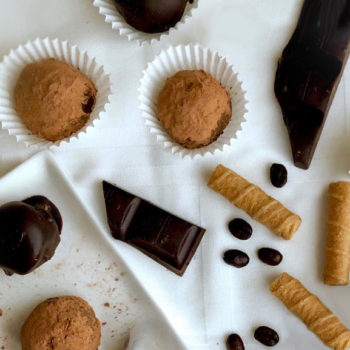 the mocha truffles described in this article