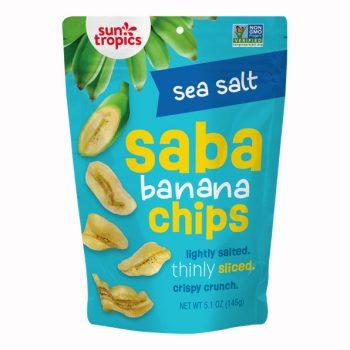 Sea Salt Sun Tropics Saba Banana Chips pouch