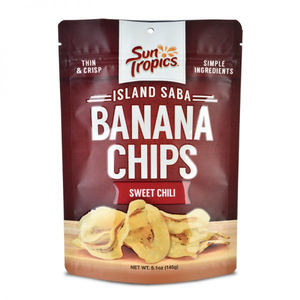 sweet chili flavor banana chips