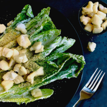 a delicious ceasar salad