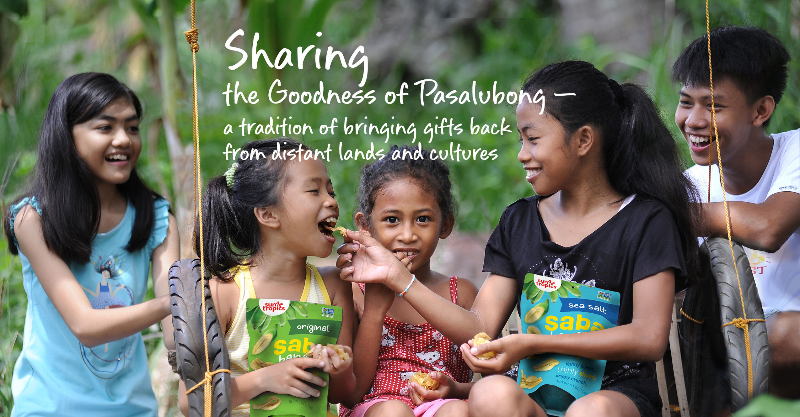 Sharing the goodness of Pasalubong